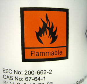 Flamable!