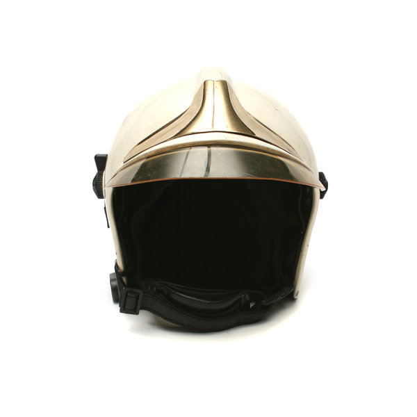 Fire-Brigade Helmet: Visit http://www.vierdrie.nlObject dontated by: Armand Scheijen