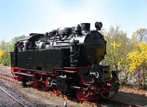 german steam locomotive