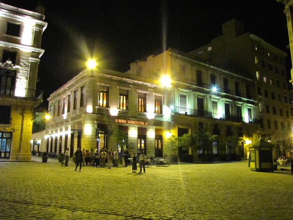 Cuba at night
