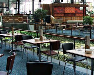 dining ambience3: open area spacious restaurant