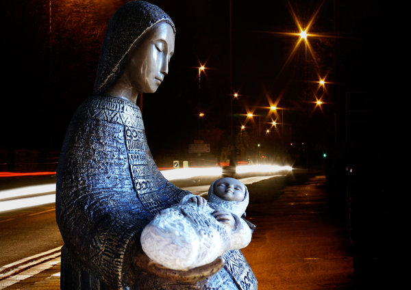 Nativity in the city