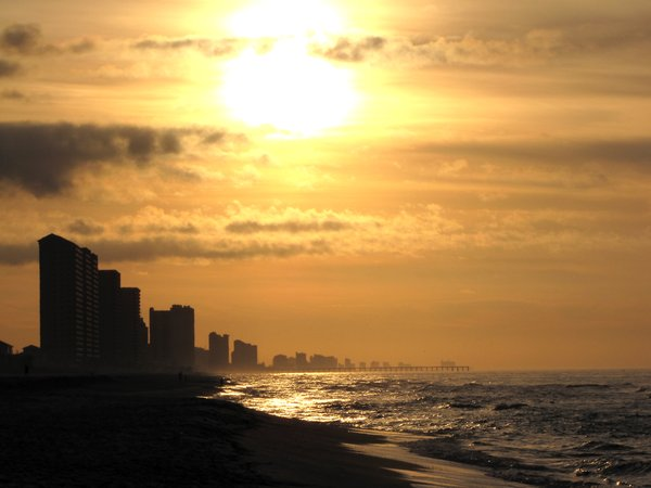 Morning 2012: Taken Panama City Beach, Fl. First shot of the year.