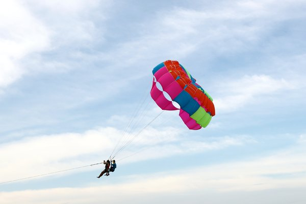 Summer Time Parasailing