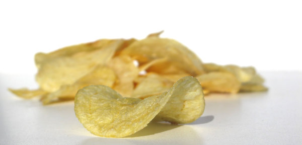 potato chips: none
