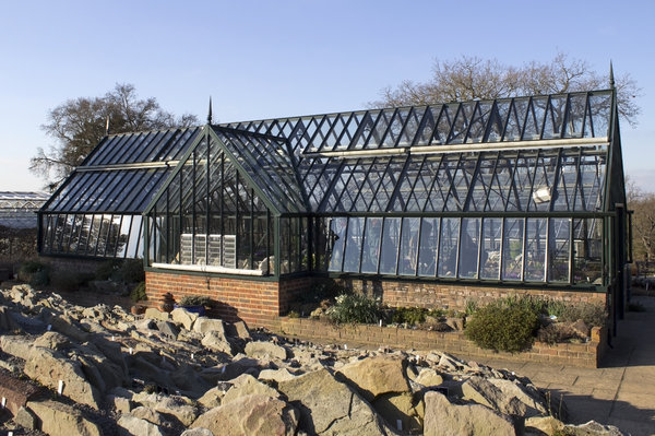 Traditional English greenhouse