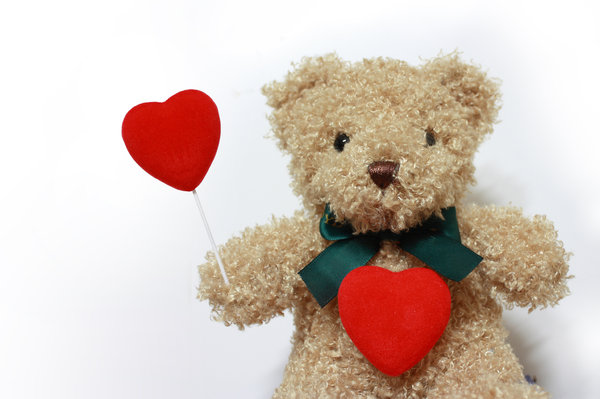 teddy bear with love: teddy bear with love is sharing love