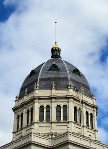 Dome top1: dome rooftop on historic exhibition building