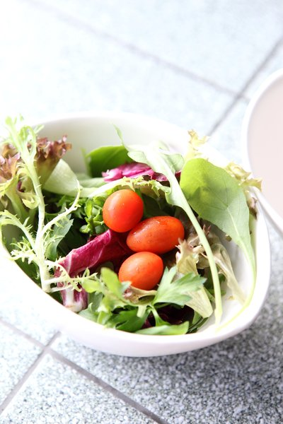 Healthy Salad 1: Bowl of healthy greens