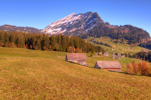 Swiss countryside - HDR