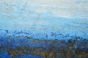 Blue painted texture