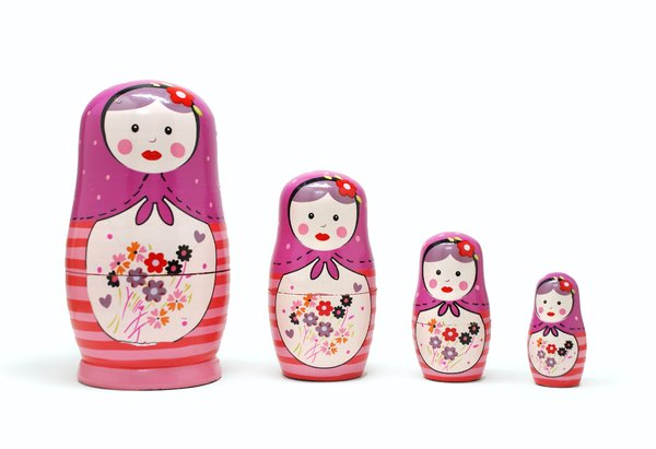 matrioska russian dolls #1