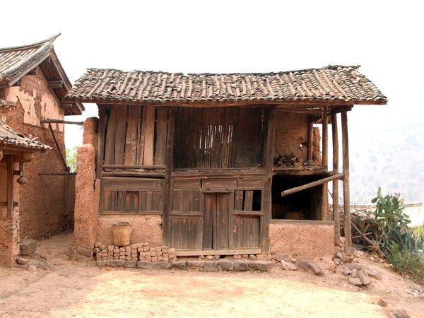 oriental chinese village hut