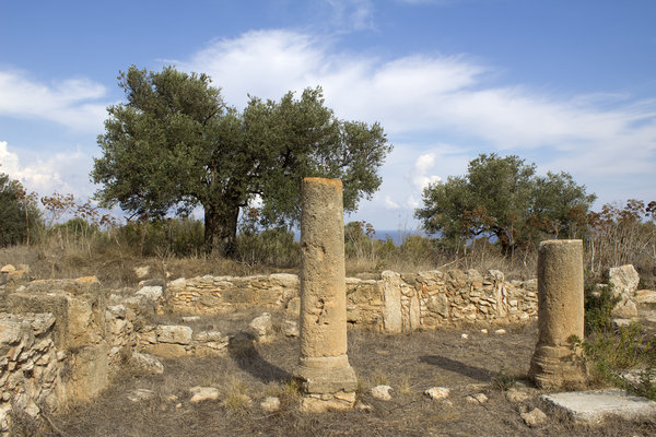 Ancient church ruins 1