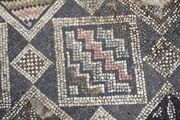 Ancient church mosaics 6