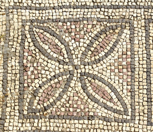 Ancient church mosaics 10