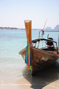 Boat on Phiphi