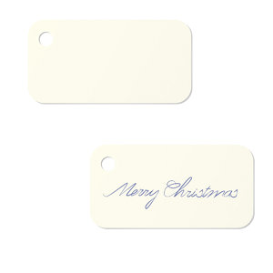 gift labels with and without t