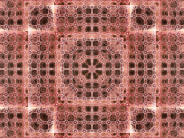 medieval rose riveted matrix: abstract backgrounds, textures, patterns, geometric patterns, shapes and perspectives from altering and manipulating images