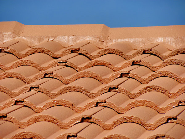 roof restoration7: cleaning and painting roof tiles for restoration
