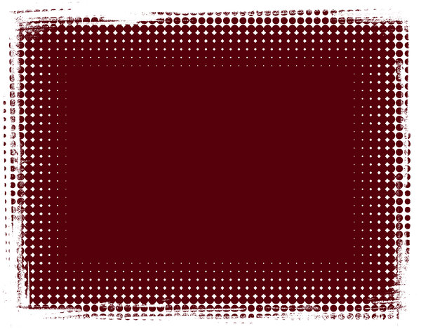 Dot Banner 12: A dark red banner or background with a grungy dotted border.