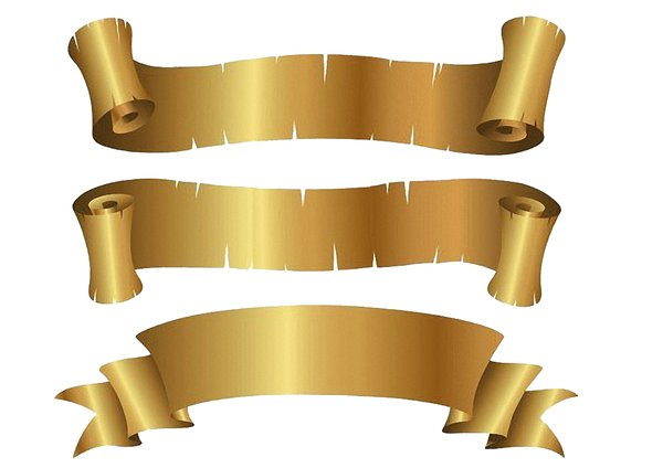 Ribbon: Gold Ribbon