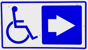 wheelchair direction