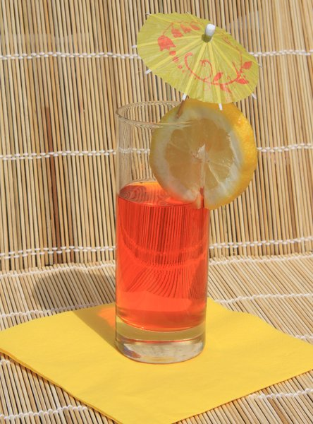 Tropical Drink: Summer drink