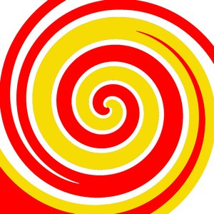 Swirl 9: Colored swirl