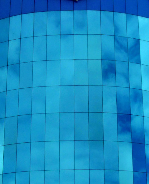 blue glass reflections2