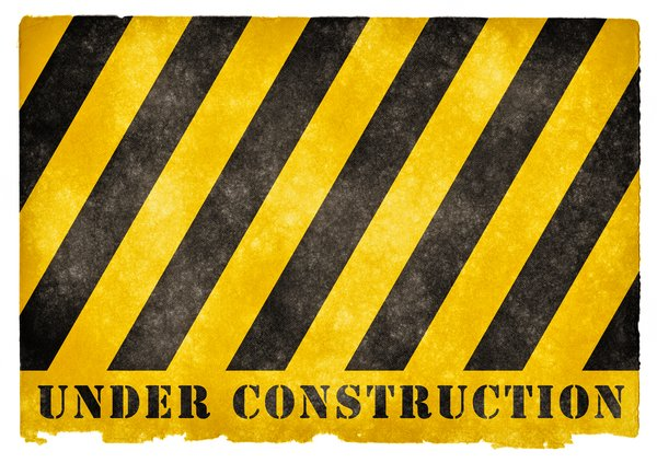 Under Construction Grunge Sign