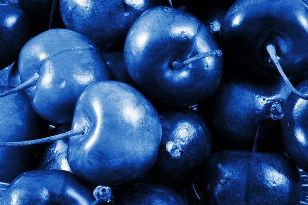 Blue Cherries