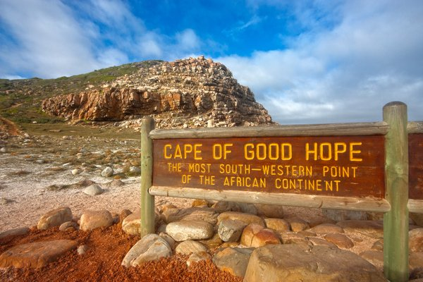 Cape of Good Hope - HDR: Cape of Good Hope, South Africa (near Cape Town). HDR composite from multiple exposures.