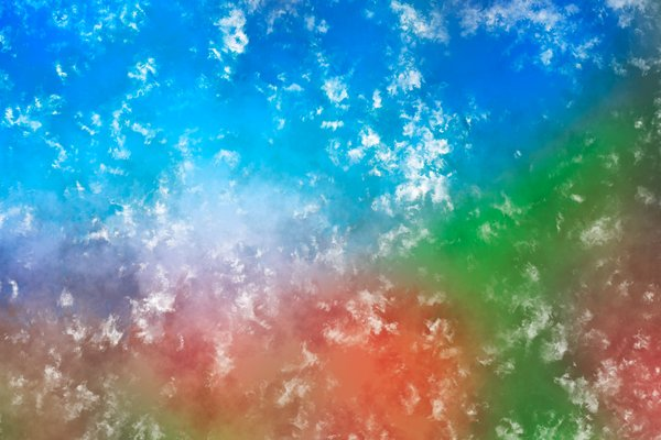 Colorful Pastel Texture: Colorful texture reminiscent of an abstract pastel painting.