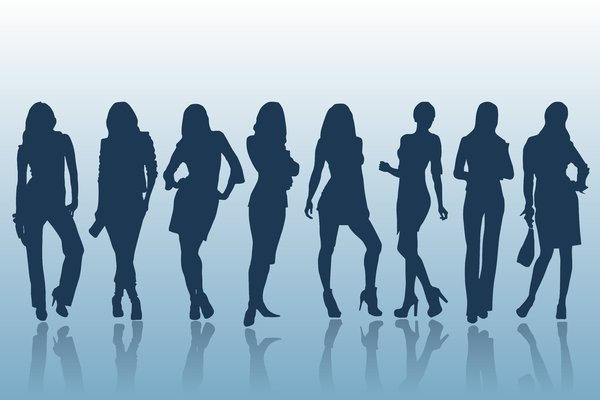 Girls Silhouette 2