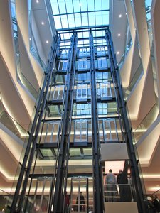lifts in shopping mall 2