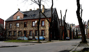 Silesian architecture: Old familky blocks in Silesia, Poland.Please mail me if you have used it - just to let me know!