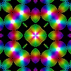 Kaleidoscopic Tile 5