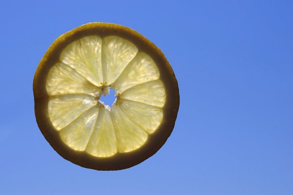 Flying lemon