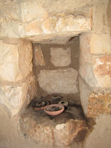 stone house: Ancient village stone house in Nazareth Israel