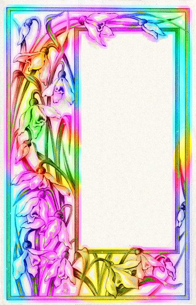 Colourful Border 3 | Free stock photos - Rgbstock - Free ...