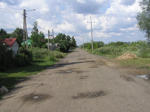 Road via village