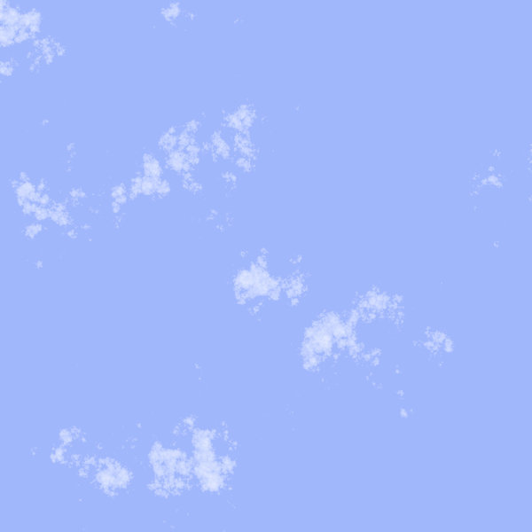 Cloudy Sky 5: A rendered realistic cloudy sky. You might prefer this:  http://www.rgbstock.com/photo/2dyVw9Q/Clouds+in+Spring+Sky