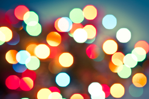 Christmas Lights Bokeh 2: