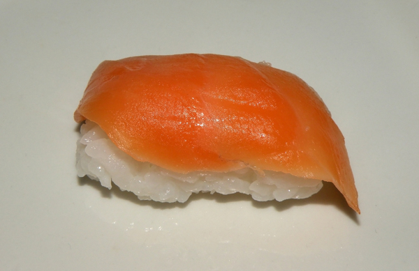 Sushi - Nigiri with Salmon