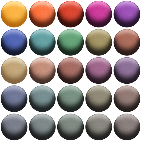 Coloured Balls: A group of coloured balls.