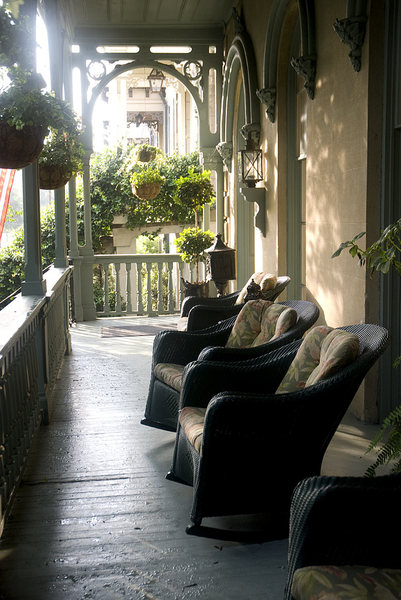 Southern Porch: Porches as the should be in the deep South of the USA