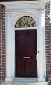 Neo-classical doors II: Neo classical doors from Charleston South Carolina, USA. All from the late 18thC and early 19thC