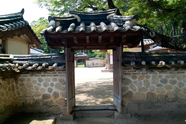 Door of KOREAN old style