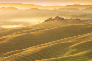 Tuscany Hills at Dawn